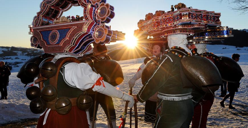 Alter Silvester Urnäsch